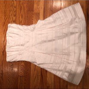 White Striped Lily Pulitzer Dress